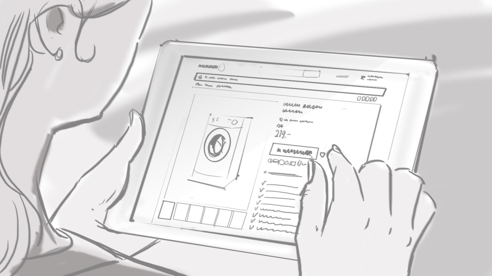 Gedetailleerd Storyboard